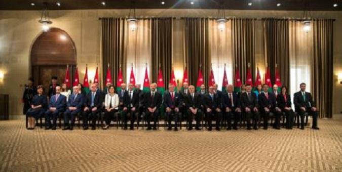 الأردن.. الحكومة الجديدة تؤدي اليمين و7 حقائب نسائية للمرة الأولى