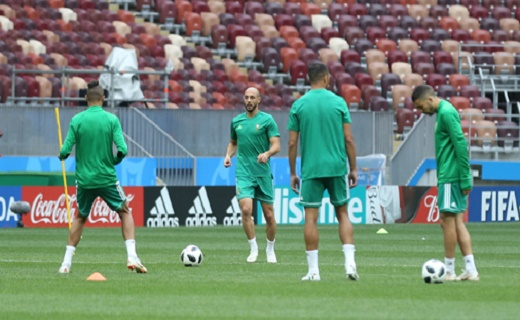 المنتخب المغربي ممنوع من التدرب بملعب كالينيغراد