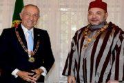 الملك يهنئ رئيس البرتغال بمناسبة عيدها الوطني