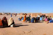 استمرار الاحتجاجات داخل مخيمات تندوف على وفاة شاب داخل السجن