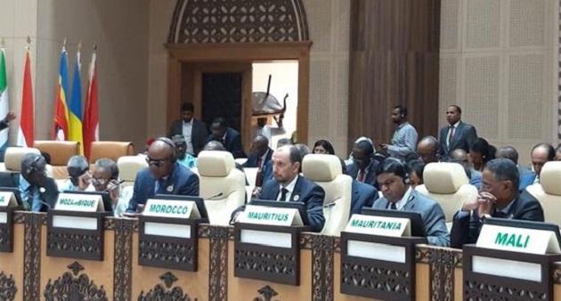 المغرب يؤكد بنواكشوط تضامنه والتزامه مع دول الساحل بمجلس السلم والأمن التابع للاتحاد الإفريقي