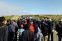 إقليم آسفي..معتصمون بأرض خواص يواجهون قوات الأمن بالحجارة