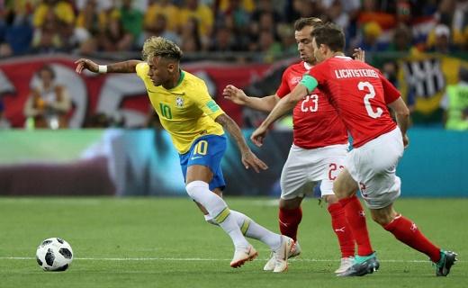 سويسرا تحرج البرازيل وتبعدها عن صدارة المجموعة