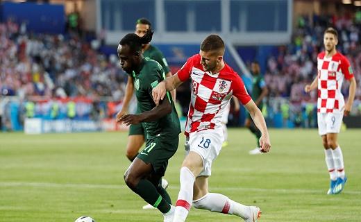كرواتيا تنطلق بفوز مهم على نيجيريا
