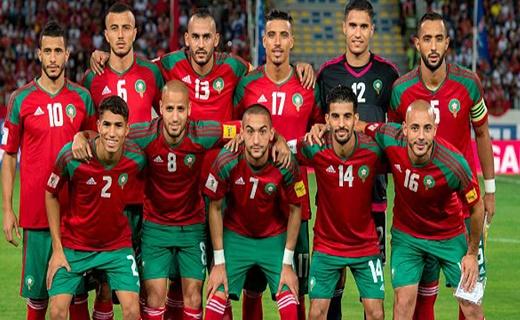 المنتخب المغربي يحسن ترتيبه عالميا قبل المونديال