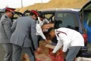 حجز 130 كلغ من القنب الهندي في سيارة بين تطوان وشفشاون