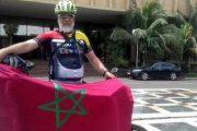 بعد وصوله السودان..محمد ربوحات يواصل رحلته إلى الحج على دراجته الهوائية