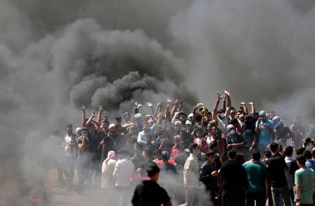 استشهاد 4 فلسطينيين جراء قصف إسرائيلي في قطاع غزة