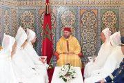 الملك يستقبل أعضاء الوفد الرسمي المتوجه لأداء مناسك الحج