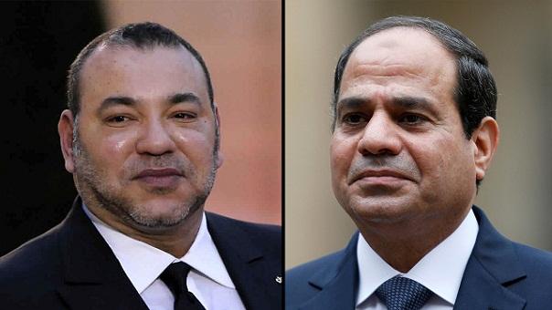 الملك يهنئ السيسي باحتفال مصر بذكرى ثورة 23 يوليوز