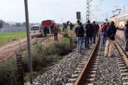 القطار يبثر رجلي شاب عند دخوله مدينة مراكش