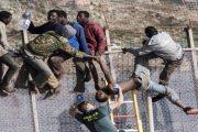 وسط أعمال عنف.. أزيد من 600 مهاجر إفريقي يدخلون سبتة المحتلة