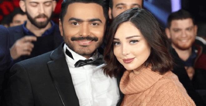 بسمة بوسيل غاضبة بسبب خبر خيانة زوجها