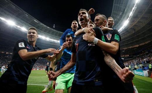 كرواتيا تواجه فرنسا في نهائي مونديال روسيا