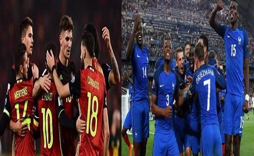 فرنسا وبلجيكا...نهائي مبكر في مباراة حارقة