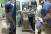 بالفيديو.. ممرضة تتعرض لاعتداء خطير بالمستشفى الاقليمي لتاونات