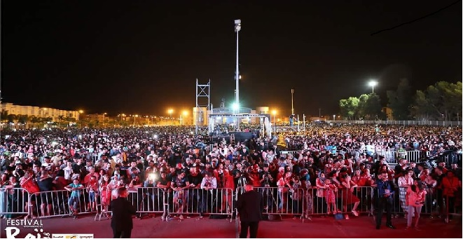 حفلات مهرجان الراي تستقطب 400 ألف متفرج