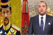 الملك يهنئ سلطان بروناي دار السلام بمناسبة عيد ميلاده
