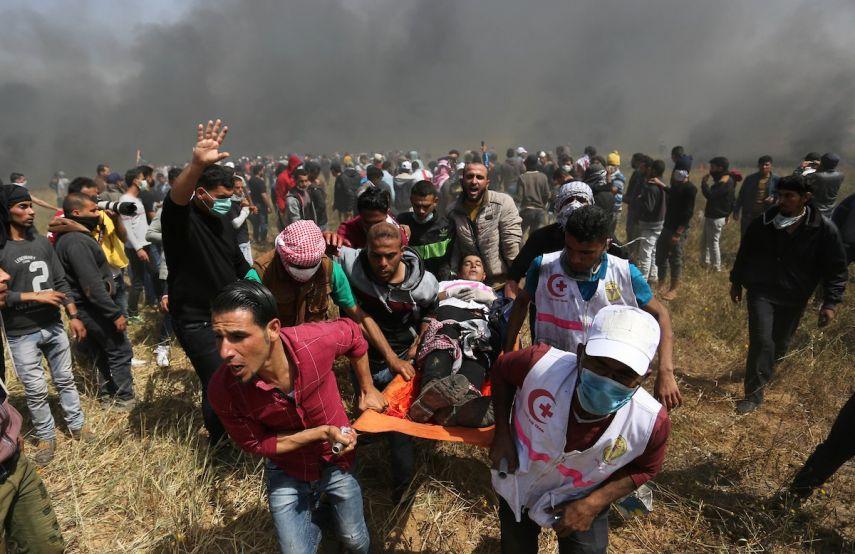 152 شهيداً في غزة منذ بدء مسيرات