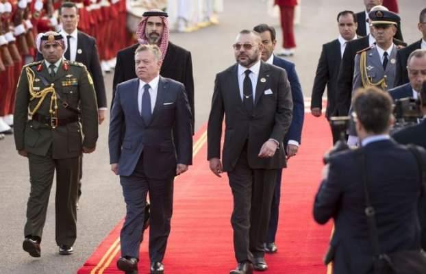 الملك محمد السادس يعزي العاهل الأردني إثر الاعتداء الإرهابي