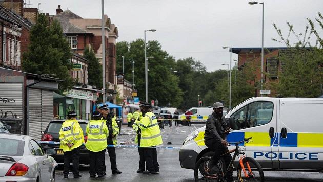 بريطانيا.. إطلاق نار في مانشستر يصيب 10 أشخاص