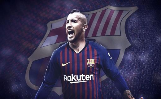 برشلونة يحدد موعد تقديم لاعبه الجديد فيدال