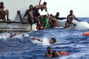 انتشال 5 جثث وإنقاذ 102 مهاجرا غير شرعي من عرض البحر