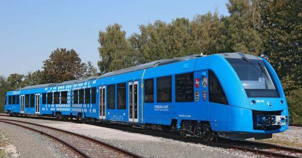إطلاق أول قطار هيدروجيني في العالم