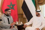 أبوظبي.. الملك محمد السادس يبحث مع بن زايد التطورات في المنطقة