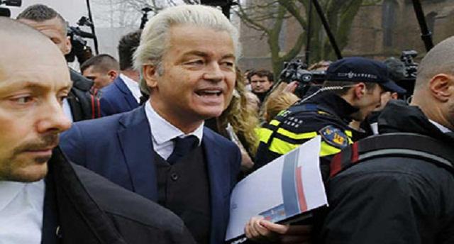 حزب المتطرف الهولندي فيلدرز يبث إعلانا عنصريا ضد المسلمين