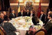 الملك يقيم مأدبة عشاء على شرف رئيس مجلس الوزراء البوسني