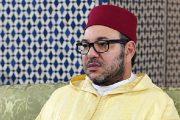 """الملك يؤدي صلاة الجمعة بمسجد """"القدس"""" بمدينة سلا"""