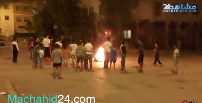 بالفيديو: النار تشعل حماس الأطفال ليلة عاشوراء