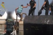 إنقاذ 10 مهاجرين مغاربة من الغرق بميناء الجزيرة الخضراء