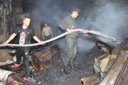 حريق يلتهم سوقا شعبيا بالبيضاء والسكان يطالبون بتأهيله