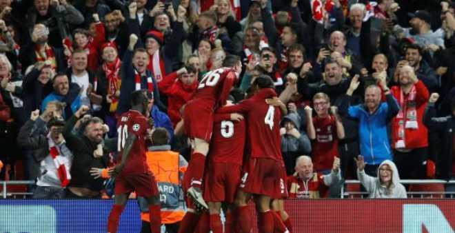 ليفربول يحقق انتصارا صعبا أمام سان جيرمان