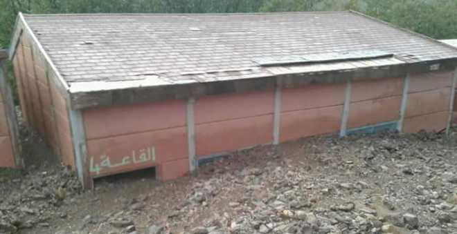 بعد طمر مدرسة ونفوق مواشي.. سكان بأزيلال يتخوفون من السيولة الجارفة