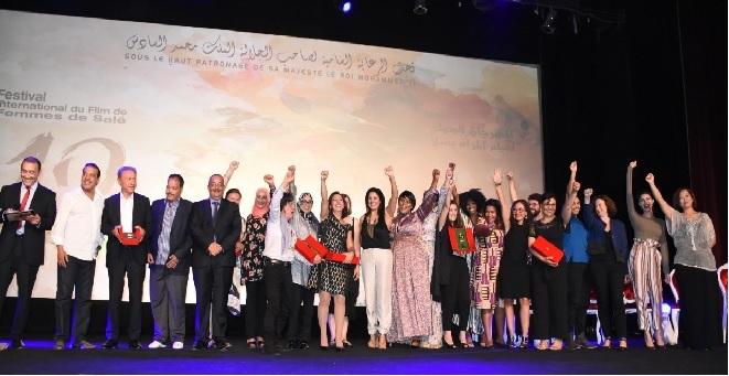 رومانيا تظفر بالجائزة الكبرى لمهرجان سلا والوالي والمريني يخطفان جائزة الجمهور