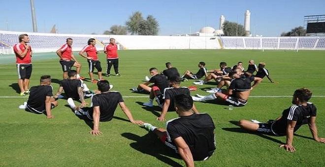 الفريق الوطني ينهي برنامجه الإعدادي بالدارالبيضاء