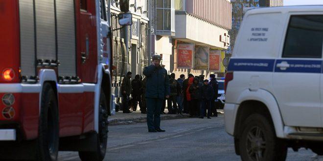 انفجار يهز مبنى الأمن بروسيا ويوقع قتلى