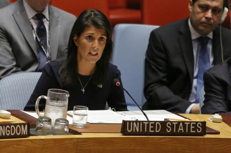 استقالة نيكي هايلي السفيرة الأمريكية لدى الأمم المتحدة