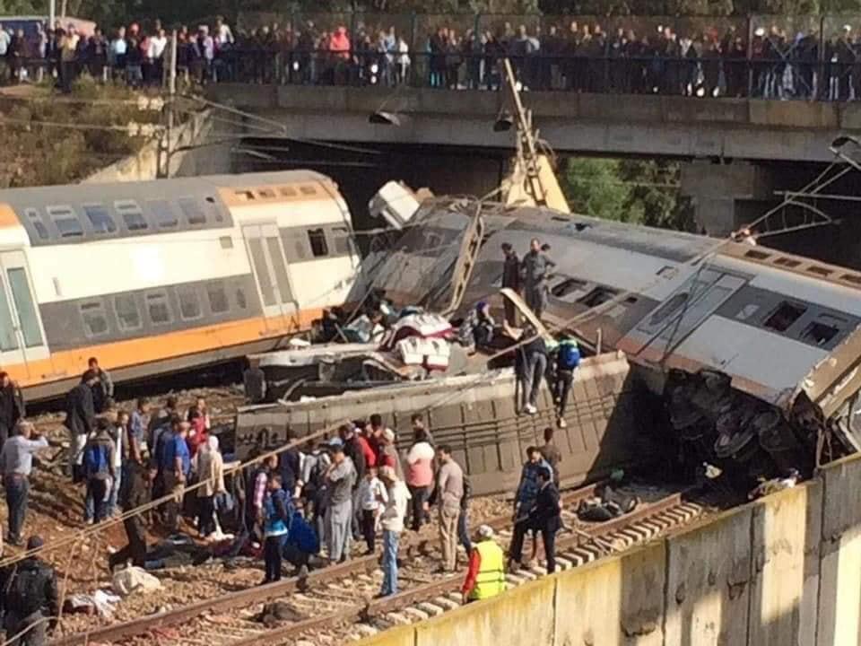 قصص ضحايا حادث القطار تلهب مواقع التواصل الاجتماعي