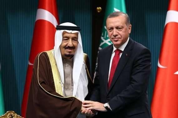 أردوغان يبعث رسائل ودية لملك السعودية ويؤكد ثقته فيه