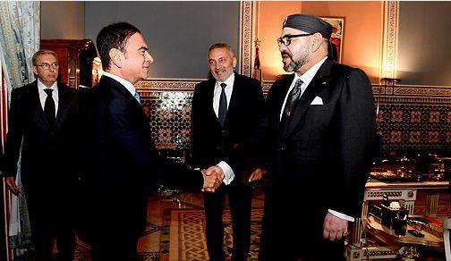 الملك يستقبل وزير الصناعة والرئيس المدير العام لمجموعة