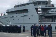 بتعليمات ملكية.. المغرب يستلم برين الفرنسية سفينة جد متطورة