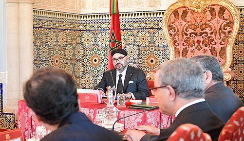 الملك محمد السادس يترأس مجلساً وزارياً