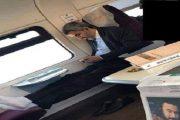 صورة لعمدة البيضاء داخل القطار تلهب مواقع التواصل الاجتماعي