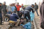 القطار يقتل متشردا قرب الناظور
