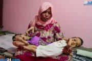 بالفيديو: صرخة أم يعاني توأمها من انكماش في المخ وإعاقة نادرة