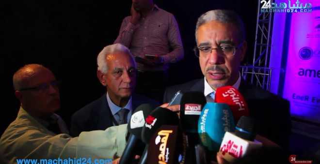 بالفيديو.. عزيز الرباح: الكهرباء سوق عالمية لخلق ملايين الفرص لشباب المغرب
